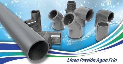 tubo  tuberia pvc de agua 3/4  1 pulg 2.1/2 pulg 3 pulg