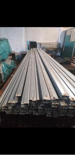 tubos 2x1 y 1x1 galvanizados de 6mts