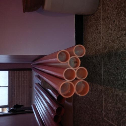tubos de 2 y 6 pulgadas reforzados (naranjas) payco