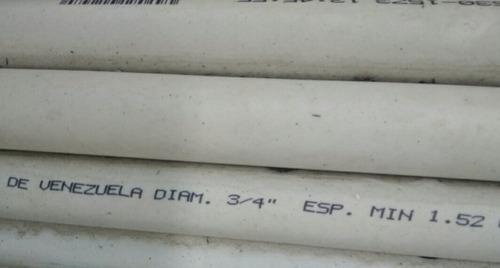 tubos de 3/4 para electricidad tubrica