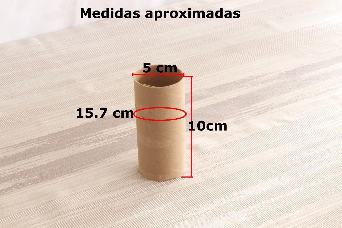Tubos De Cartón De Papel Higiénico Wc Para Manualidades 3500