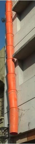tubos de descarga de escombros alquiler