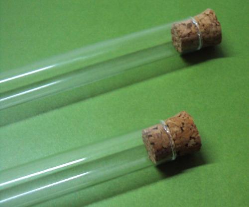 tubos de ensayo de vidrio.  varias medidas.