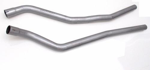 tubos de escapamento linha gol quadrado turbinado em 2,5 pol
