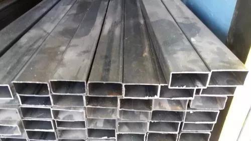 tubos de hierro de 12x6 de 3 mts.