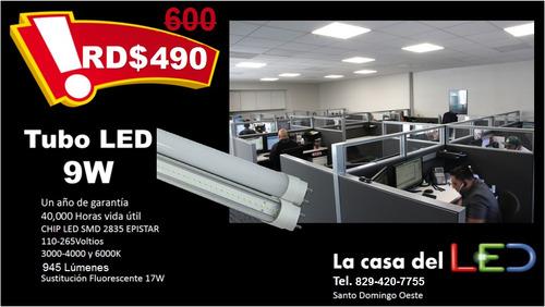 tubos de led  con más de 60% de ahorro de tubo fluorescente
