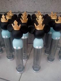 Tubos De Mickey Rey X 10 Unidades