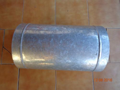 tubos de zinc