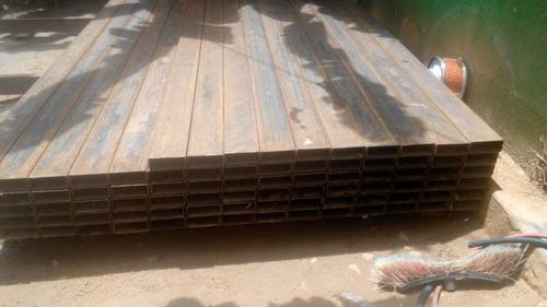 tubos estructurales 100x100, 80x40, 120x120, vigas ipn