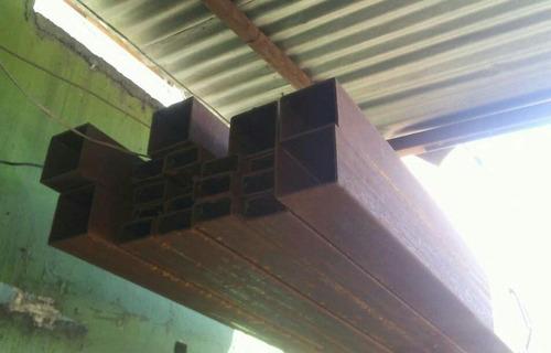 tubos estructurales 80x40 3mm 6mts precio c/u