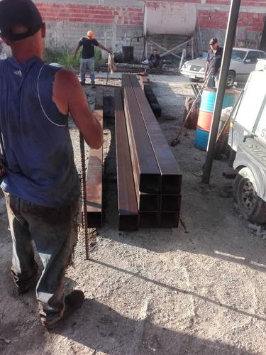 tubos estructurales conduven de 175x175x6m de espesor 5.5mm