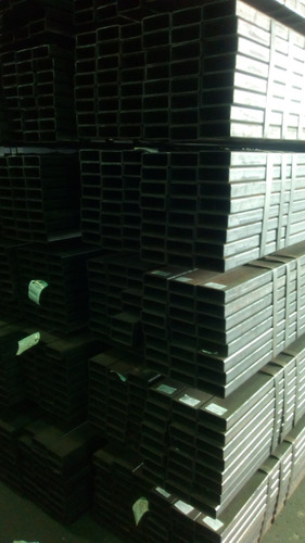 tubos estructurales de 80x40  6 mtrs