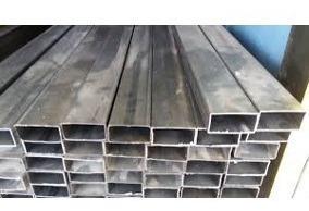 tubos estructurales rectangular 2x1 de 6 mts