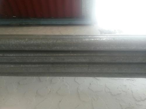 tubos galvanizado para cercado de alfajol 2  x 6mts de largo