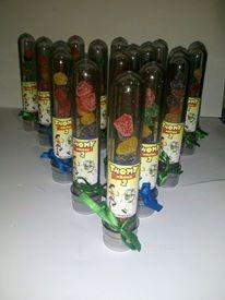 tubos golosineros personalizados  souvenir!