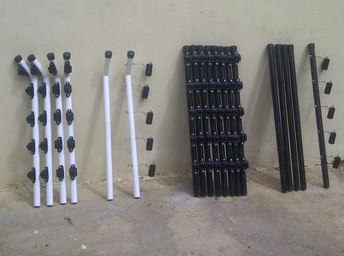 tubos para cerco electrico, color que quieran y forma.
