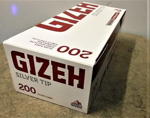 tubos para rellenar // gizeh // silver tip //  x200