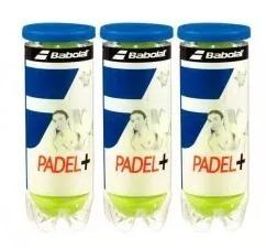 tubos pelotas babolat de padel x3