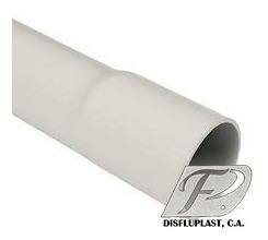 tubos plásticos electricidad 1/2 hasta 2 pulgadas x 3 metros