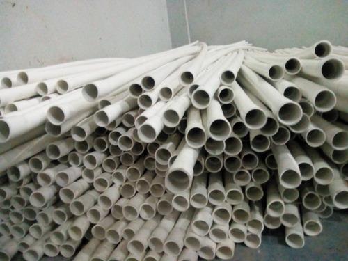 tubos pvc 3/4 conduit blanco para electricidad  remate