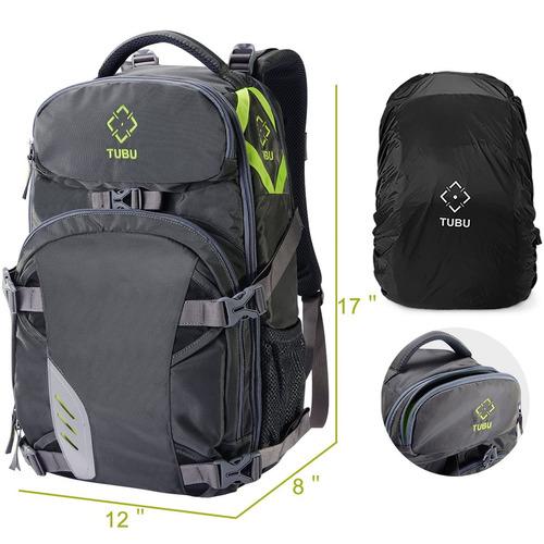 tubu video camera backpack fit 2 pro-sized dslr - cámara slr