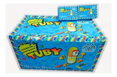 tuby x20un chaskiboom -apto renar- pirotecnia la golosineria