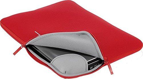 tucano colore segunda piel funda para portatil 13 rojo talla
