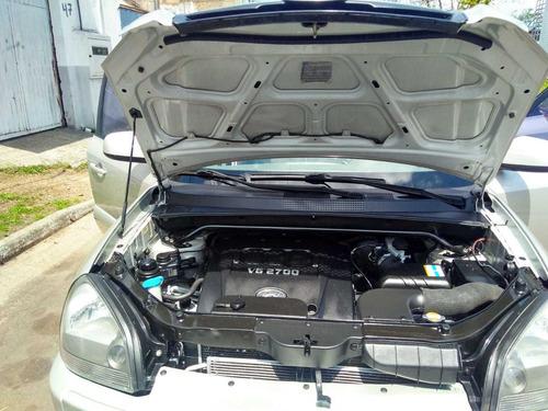 tucson  2008  2.7 gls 4x4 aut 5p prata