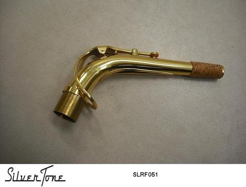 tudel para saxofon alto laqueado silvertone slrf051 !