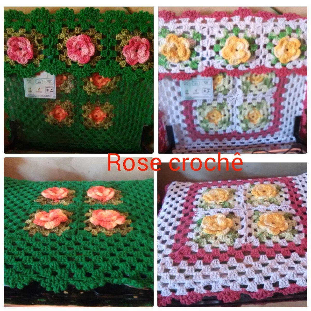 68e7fa12d2 tudo para cama mesa e banho produtos artesanais em crochê. Carregando zoom.