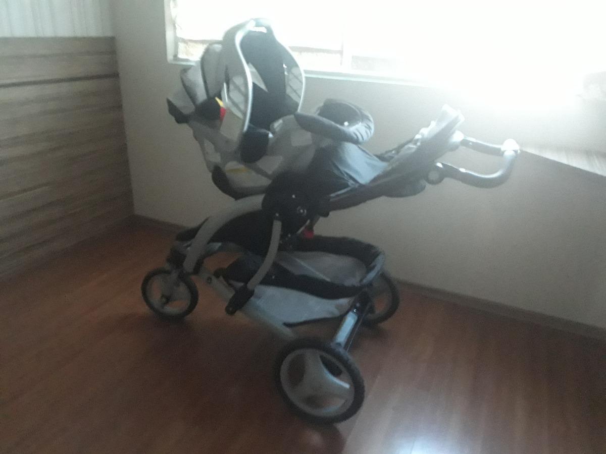 4498fa7d74331 Tudo Resolvido - Carrinho E Bebê Conforto Acoplados - Graco - R  945 ...