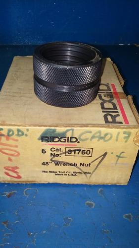 tuerca o cilindro de ajuste p/llave de tubo 48 ridgid