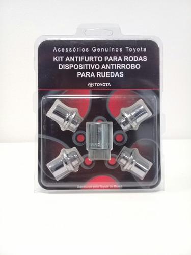 tuerca seguridad aleación original toyota corolla / etios