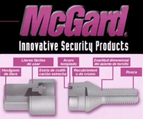tuercas anti robo mcgard dodge ram