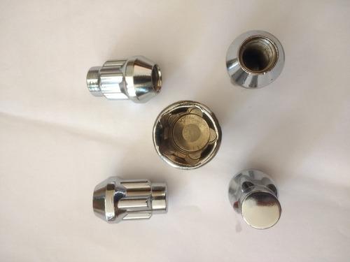tuercas de seguridad seguros rines 12x1.5 fiesta focus laser
