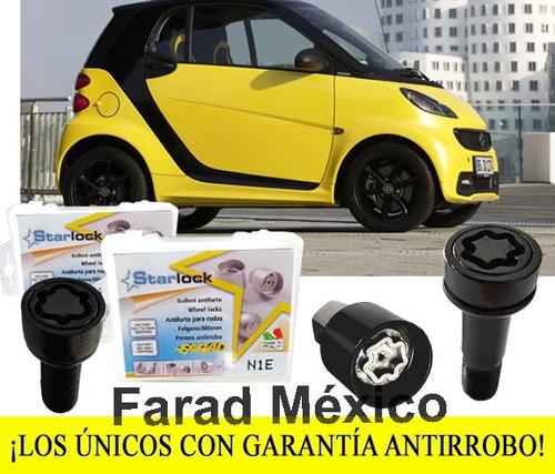 tuercas seguridad smart fortwo passion cabrio garantizados