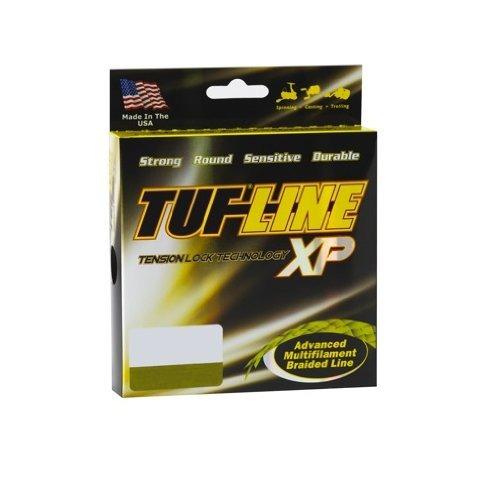 tuf-line xp línea de pesca trenzada de 600 yardas (verde, 15