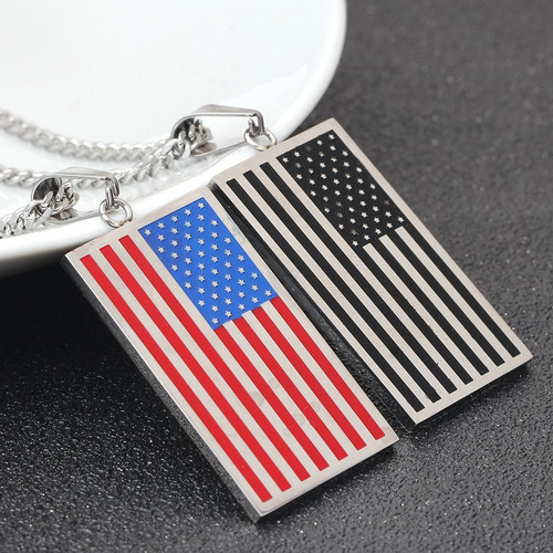 tuji american flag ee. uu. patriot freedom stars stripes tag
