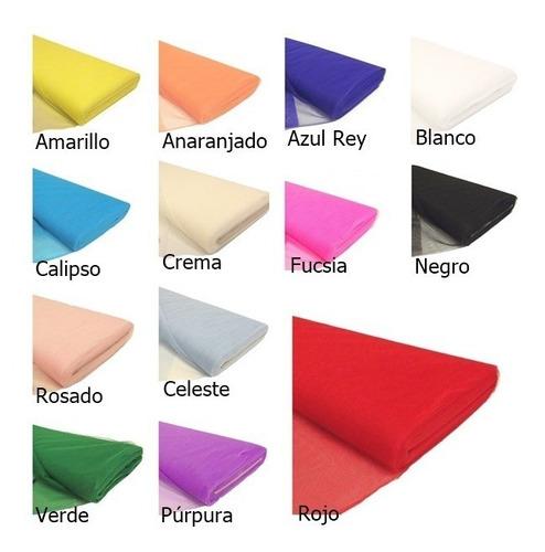 tul variados colores  valor por metro