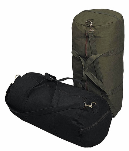 tula rothco heavyweight canvas shoulder duffle color oliva