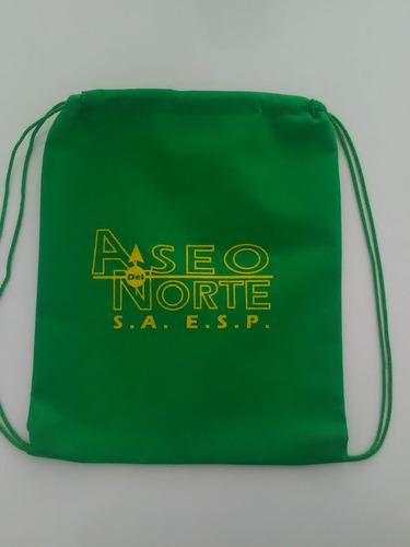 tulas ecologicas bolsas tela quirurgica kit escolar al mayor