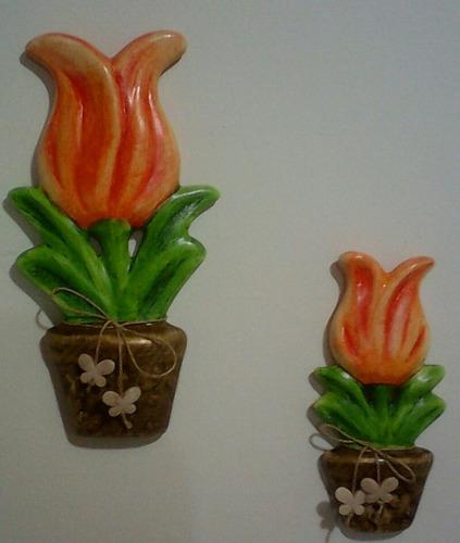 tulipa de parede