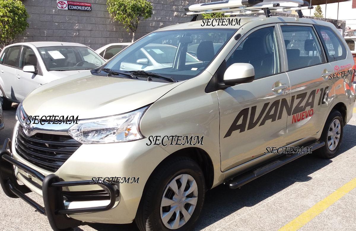 Tumbaburros Bumper Toyota Avanza 2016 17 Superprecio