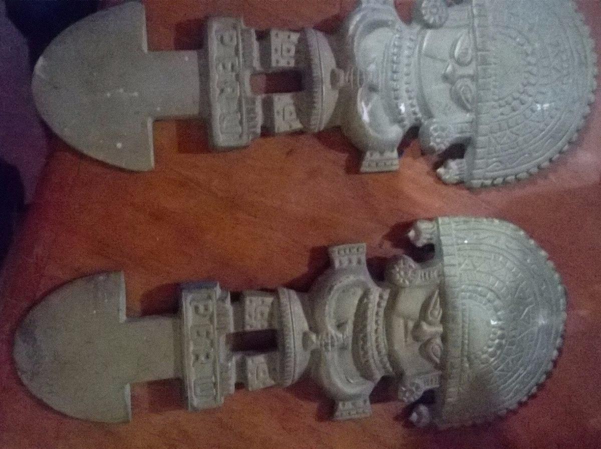tumi de bronce vintage (por dos unidades)