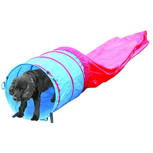 tunel agility 5mts entrenamiento para perros pawise + envío