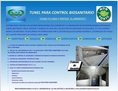 tunel biosanitario