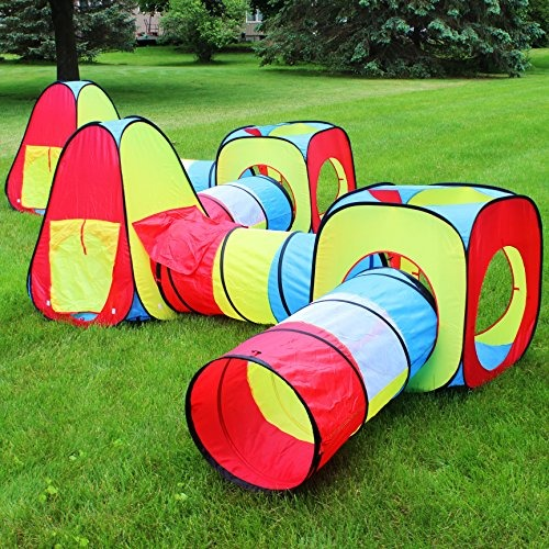 Tunel De Carpas Pop Up Play 4 Vias De Juego Para Ninos 894 900