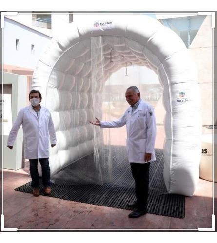 túnel desinfección  #covid-19