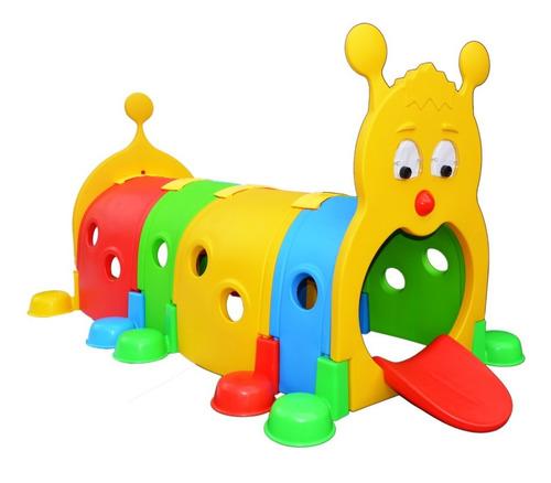 túnel gusano plástico epachamo parques infantiles
