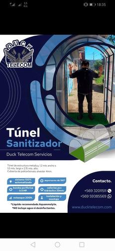 túnel sanitizador